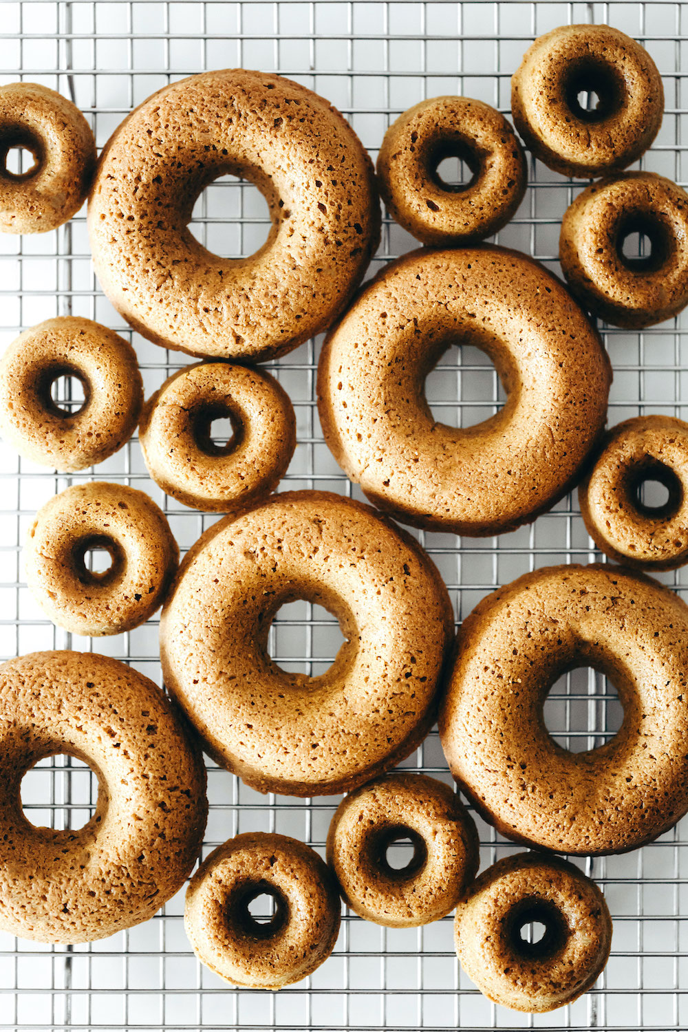 Golden Milk Donuts (vegan + gluten-free)