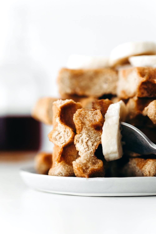 Easy Chickpea Flour Waffles (vegan + grain-free)