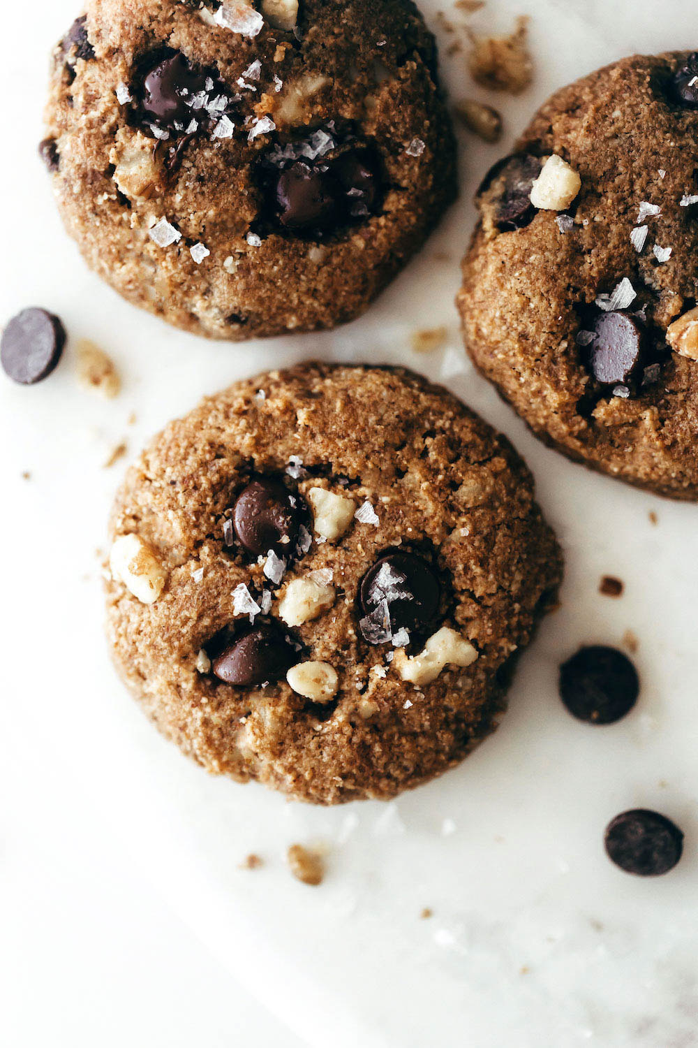 Chunky Monkey Cookies (vegan + paleo)