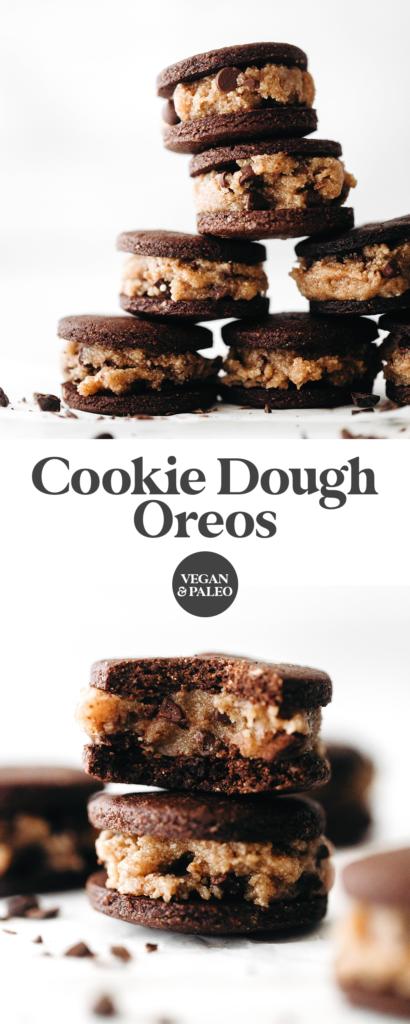 Cookie Dough Oreos (vegan + paleo)