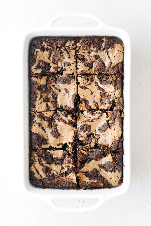 SunButter Brownies (vegan + paleo)