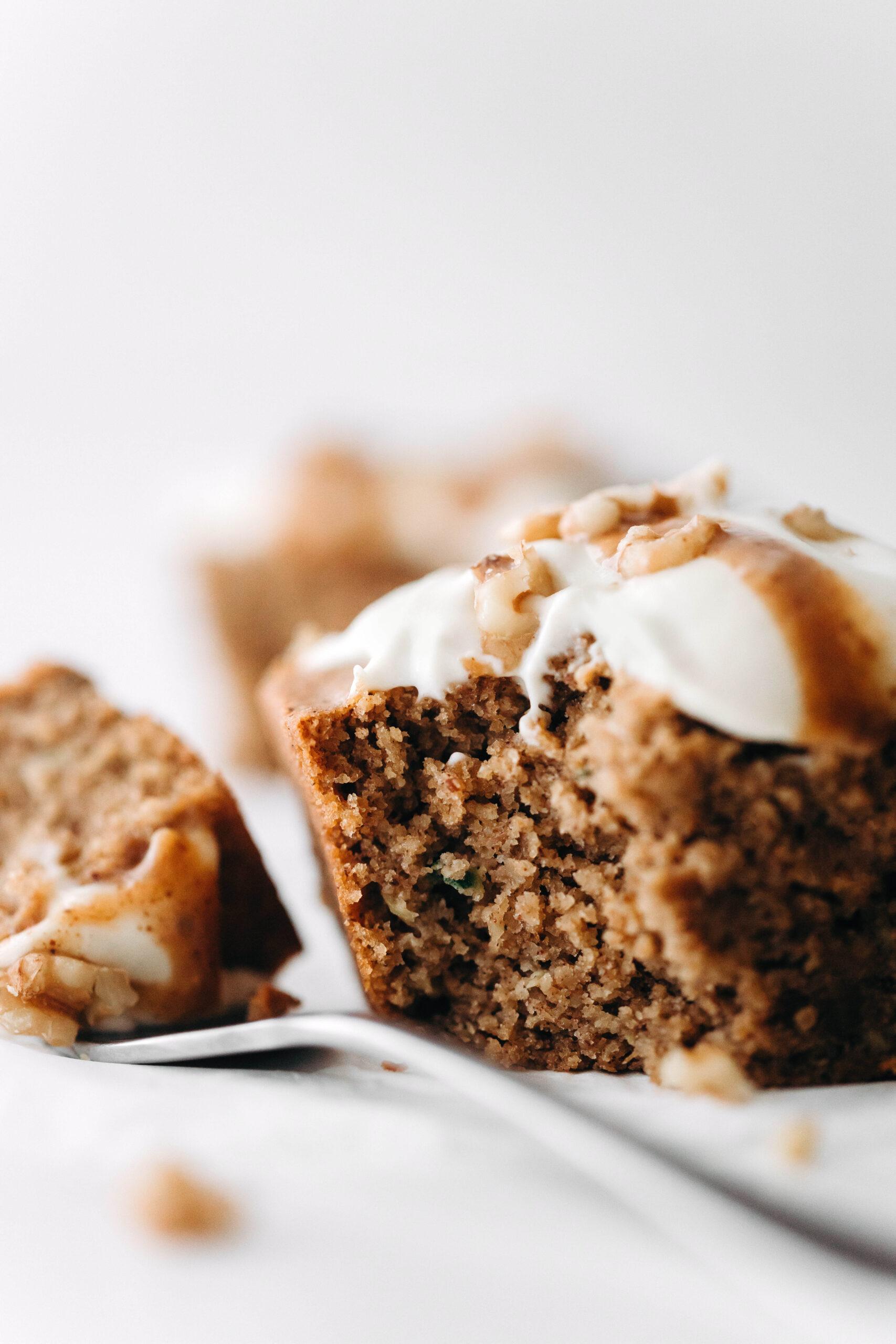 Vegan Zucchini Cake (gluten-free)