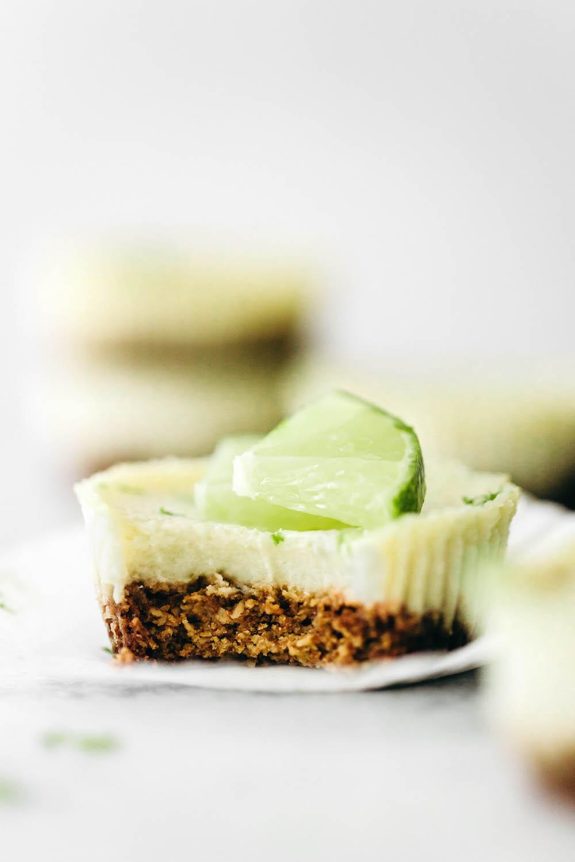 Mini Key Lime Pies (vegan + gluten-free)