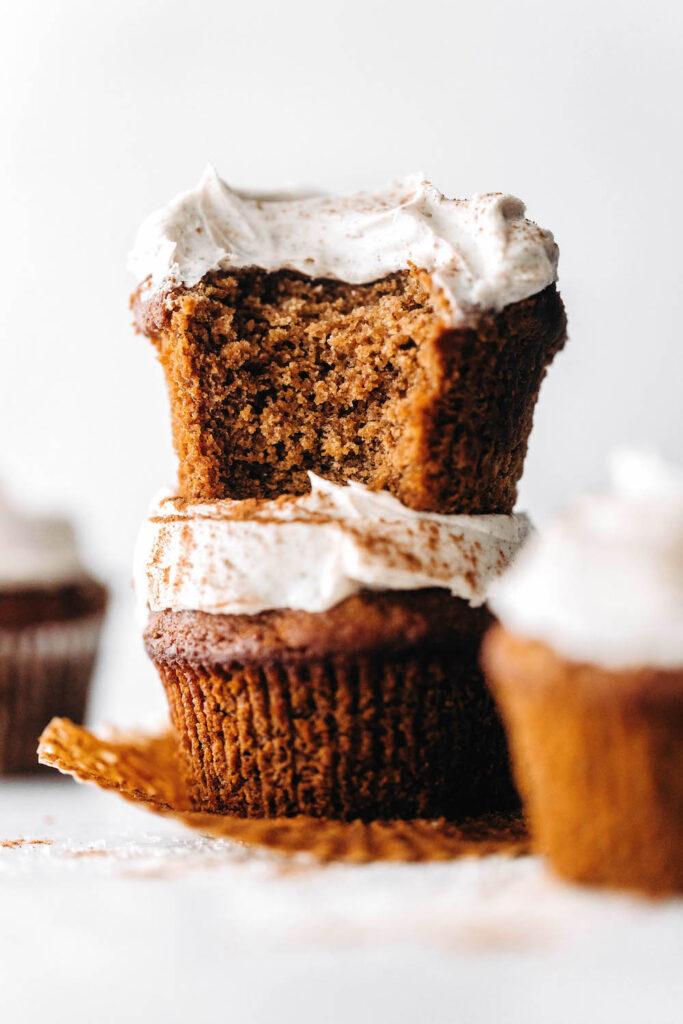 Chai Cupcakes (vegan + paleo)