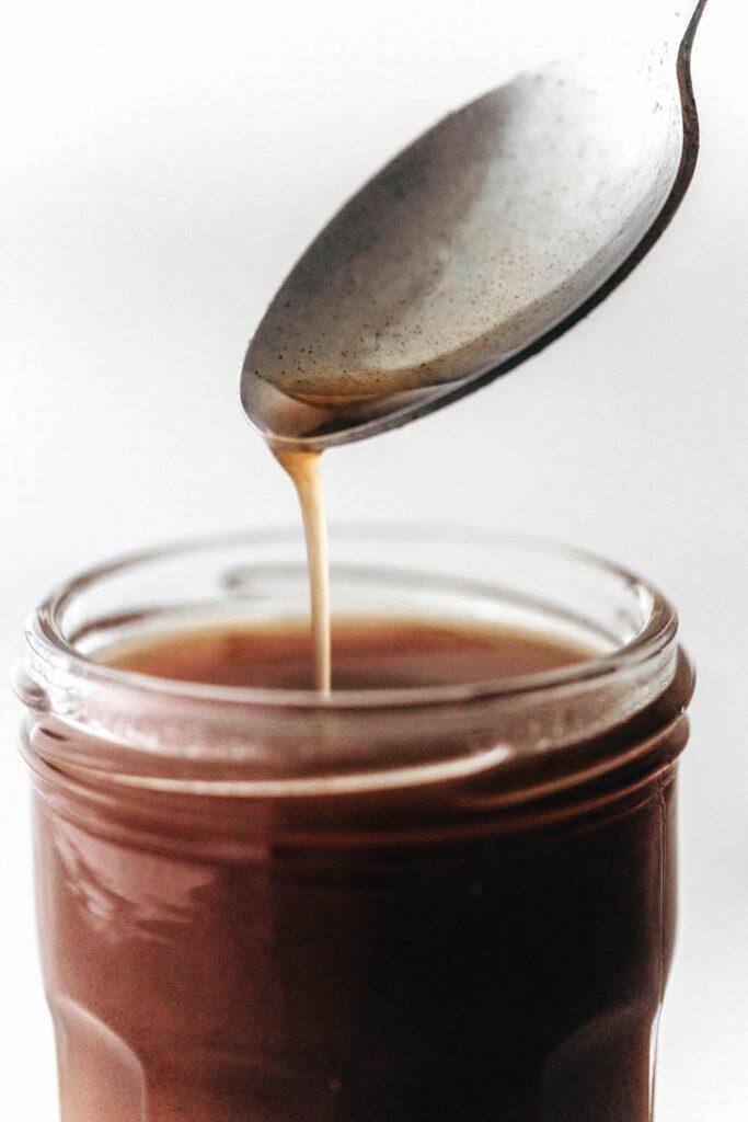 Homemade Medjool Date Syrup
