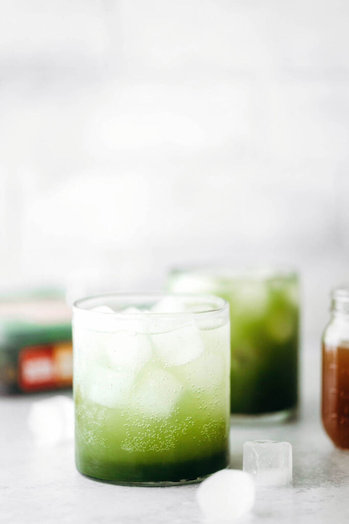 Matcha Gin Fizz