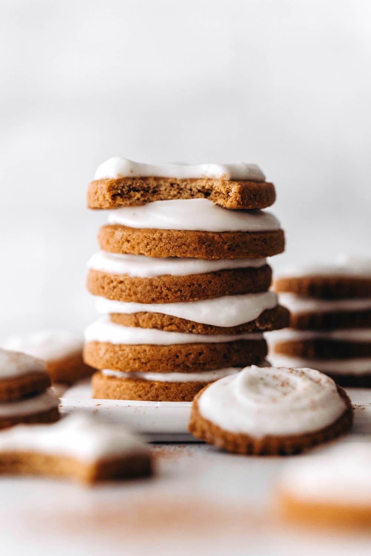 Pumpkin Cutout Cookies (vegan + gluten-free)