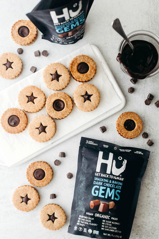 Vegan Linzer Cookies (paleo)