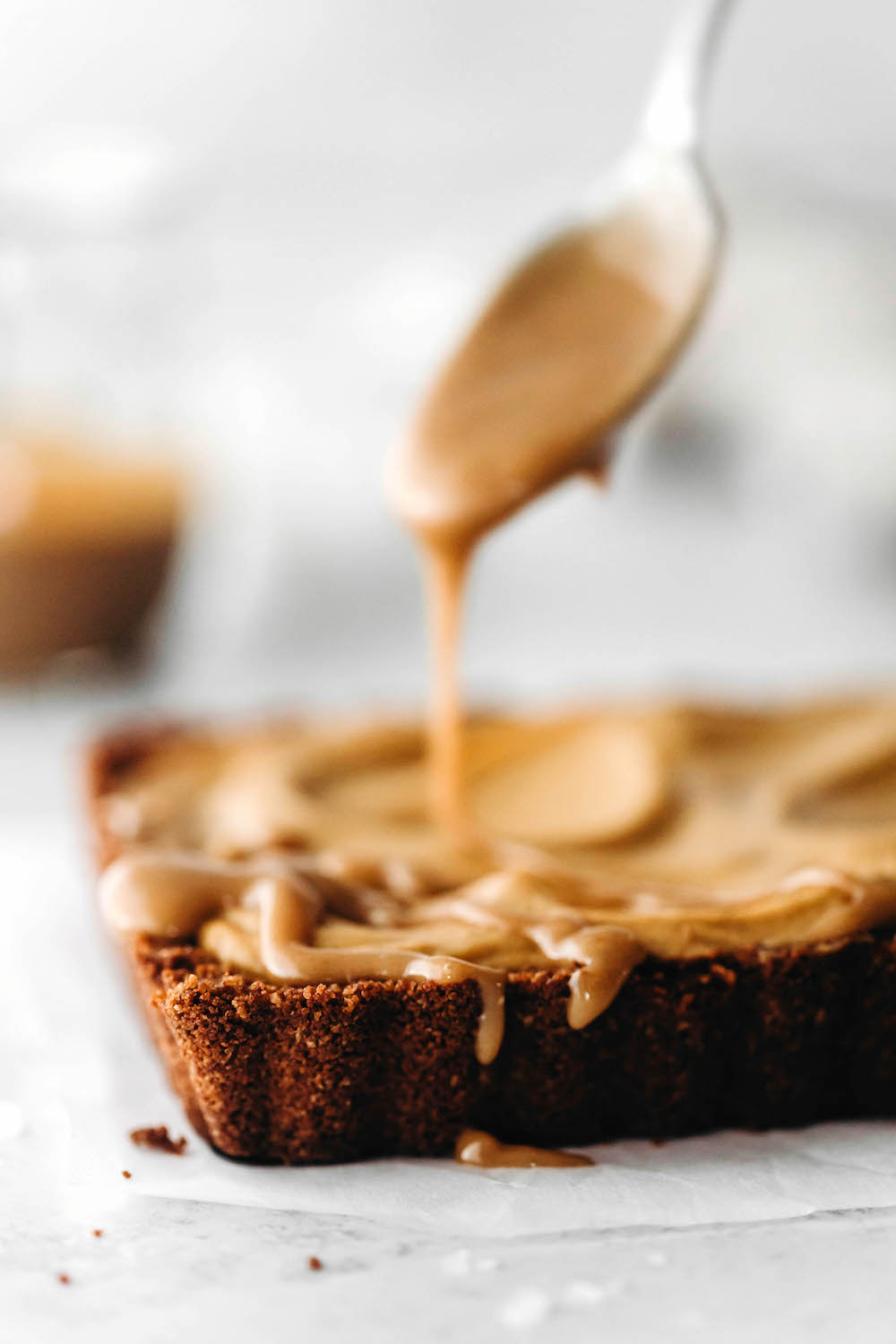 Vegan Pumpkin Tart with Ginger Crust (gluten-free)
