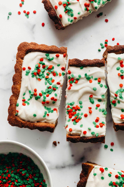 Sugar Cookie Tart (vegan + grain-free)