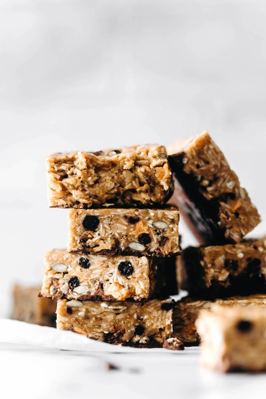 Easy No-Bake Muesli Bars (vegan)