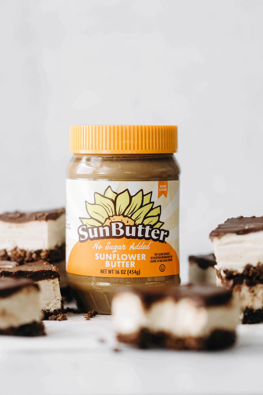 SunButter Pie Bars (vegan + gluten-free)
