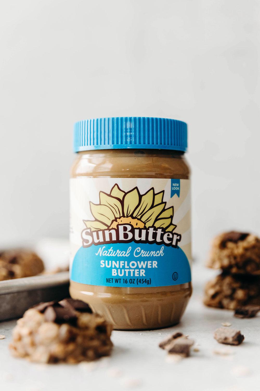 No-Bake SunButter Cookies (vegan + gluten-free)