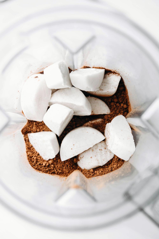 Homemade Vegan Chocolate Soft Serve