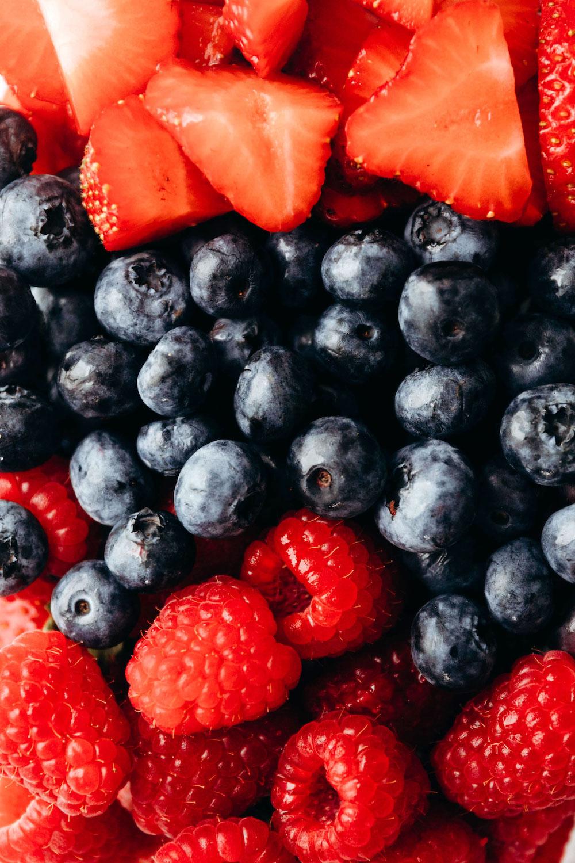 Mixed Berries Close Up